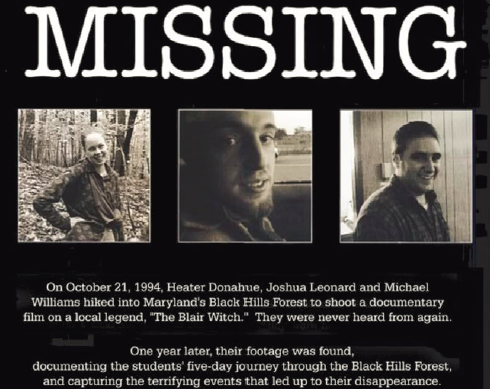 Social Media Message - Missing